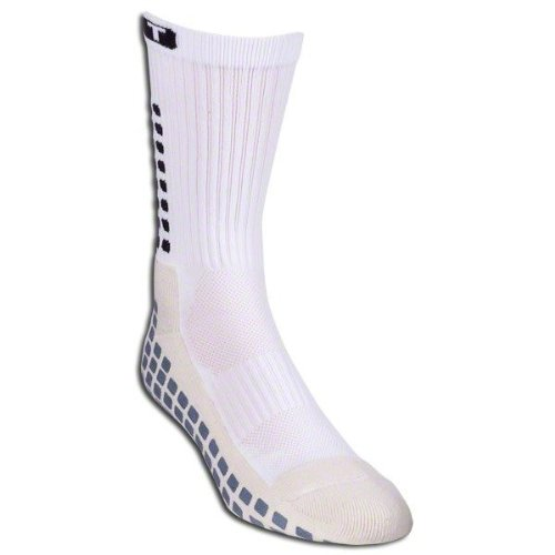 TRUsox 3.0 Mid-Calf Cushioned Sock, White, Adult Medium