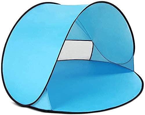 XYDDP Tienda de campaña, Tienda Familiar para Acampar al Aire Libre, fácil instalación, Tienda emergente instantánea, Tienda de Playa portátil automática, Refugio Solar al Aire Libre con