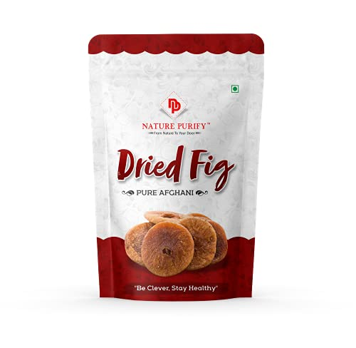 """""""Nature Purify Afghani Anjeer Figs Afghanistan Dry Anjir ( Dried Figs ) Dry Fruits for Weight Loss,Good for Physical Health – Afghanistan Anjir Dry Fruits. """" (1 kg)"""