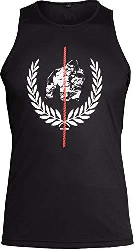 GORILLA WEAR - Herren Tank Top - Rock Hill - Fitness Bekleidung Männer Schwarz M