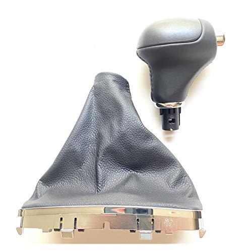 ZHANGMEI YMQ Store Genuine Gear Shift Knob Automatic Shift Handball K467203W050WK Fit for Kia Sportage 2011 2012 2013 2014 (Color Name : Leather Black Cover)