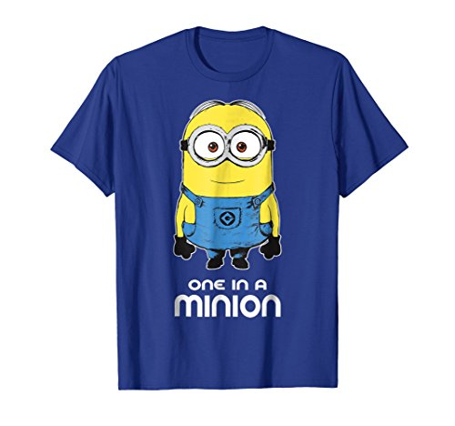 Despicable Me Minions Bob One In A Minion Graphic T-Shirt