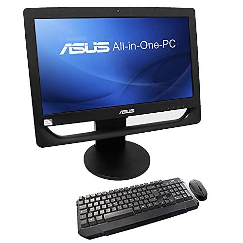 """COMPUTER DESKTOP All in One ASUS ET2013 20"""" Pentium Serial Port RS232 DVD-RW Win 10 Ufficio SmartWorking (Ricondizionato) (Con KIT Mouse e Tastiera Wireless, 4GB RAM SSD 120GB)"""