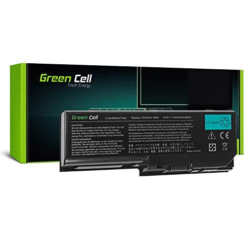 Green Cell Standard Serie PA3536U-1BRS Laptop Akku für Toshiba Satellite L350 L350D P200 P200D P300 P300D X200 (6 Zellen 4400mAh 10.8V Schwarz)