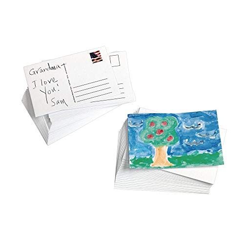 Jack Richeson 50 Pack 4' X 6' 135# Watercolor Postcards