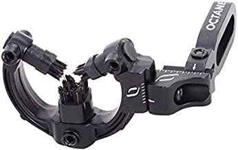 Octane RST Hostage Max Arrow Rest, Black, Left and Right Hand