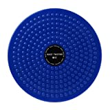 Equipo de fitness para pérdida de peso, superficie antideslizante, masaje de pies, entrenamiento de cintura y combinación de equilibrio, tabla de equilibrio (azul)