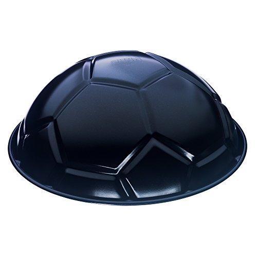 Kaiser Moule à gâteau en forme de ballon de football anti-adhésif 24 cm