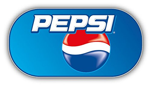 valstick Pepsi Logo Car Bumper Sticker Decal, 6'' Longer Side