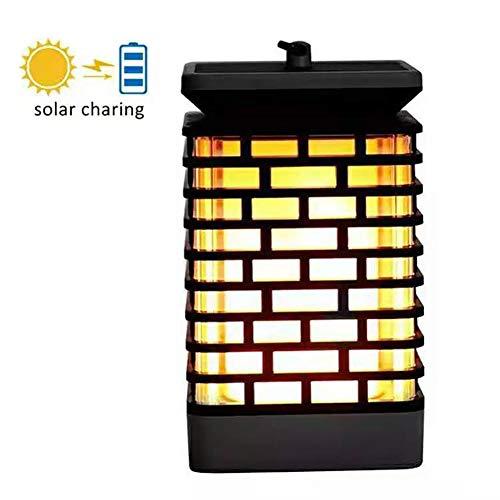 Ledlamp op zonne-energie, landschap, vlam, kaars, lantaarn, voor buiten, tuin, gazonlicht, landschap, decoratief licht