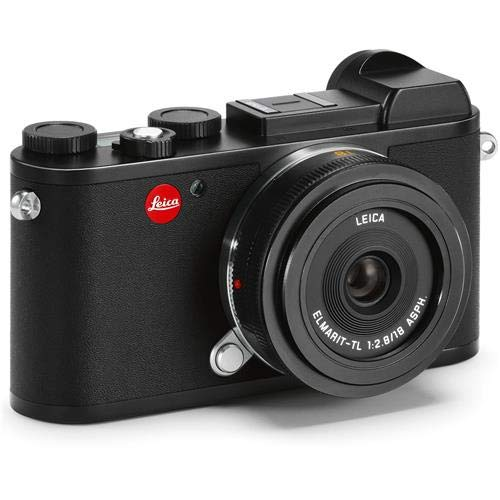 Great Deal! Leica CL Mirrorless Digital Camera with 18mm Lens, Black, Pack of 1