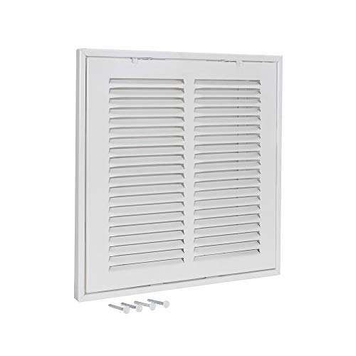 EZ-FLO 61653 Steel Sidewall and Ceiling Return Air Filter Grille, 14