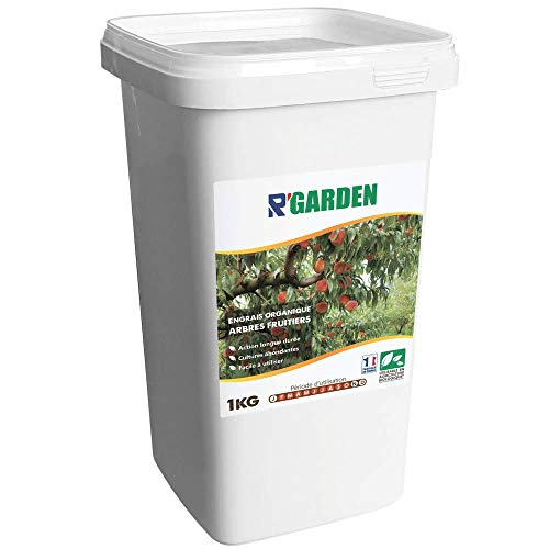 R'Garden | Engrais Organique Arbres Fruitiers | Engrais Ecologique | Fertilisant Naturel | Nourrit en Profondeur | Facile d'Utilisation | 1KG
