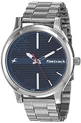 Fastrack Fundamentals Analog Blue Dial Men's Watch NM38051SM03 / NL38051SM03,Titan,NM38051SM03 / NL38051SM03