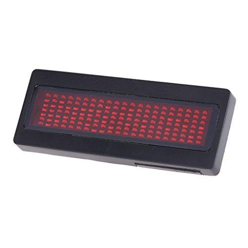 Programmierbare Digitale LED Laufschrift Für Namensschildkarten