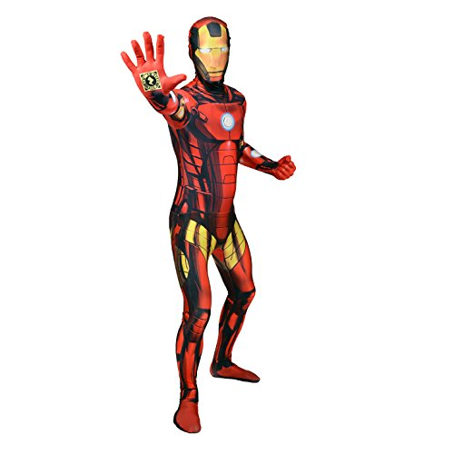 Morphsuits MLZSPM - Costume di Iron Man Zappar, M
