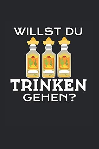 Tequila – Salz Mexikanisch Notizbuch: Saufen Bar Kneipe Mische Trinkhemd | Notizheft | Schreibheft | Tagebuch |