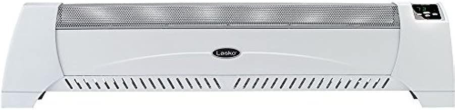 Lasko 5622 Low Profile Silent Room Heater, White