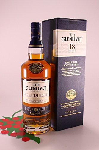 Single Malt Scotch Whisky Glenlivet 18 Y 46% 70 cl.