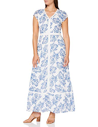 Comma Womens 81.006.81.2303 summer-dress Dress, 01f2, 38