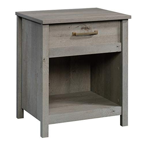 Sauder Cannery Bridge Night Stand, Mystic Oak finish