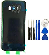 Battery Back Cover for Samsung Galaxy S8 Plus S8plus G955 Rear Glass Door Housing Replacement Repair Parts with Tool