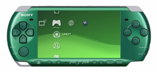 PSP 'Playstation Portable' Spirited Green (Psp-3000sg)