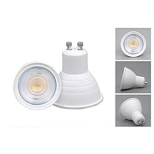 1 pcs GU10 lampe ampoule LED COB 5 W Spot à variateur d'intensité éclairage Intérieur