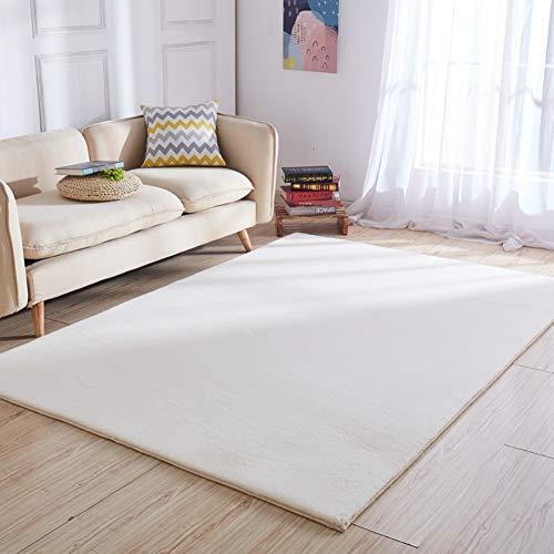 TCpick Marruecos Alfombra,Alfombra Shaggy Pelo Largo Shag Rug Anti-resbalón para Dormitorio Salón Alfombra Shaggy No-resbalón...