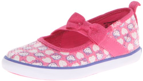 Keds Hello Kitty Champion K MJ Sneaker (Toddler/Little Kid),Pink/White,7.5 M US Toddler