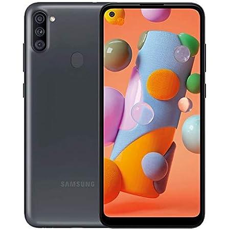 Samsung Galaxy A11 SM-A115A 32GB Single-Sim Android Smartphone - Black (Renewed) (Black, GSM Unlocked)