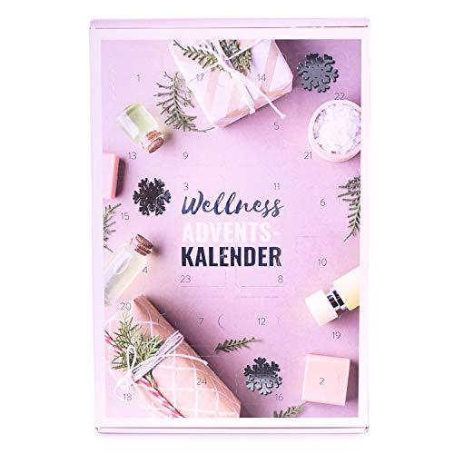 Mituso Adventskalender Wellness, mit Naturkosmetik, Duft und Deko, Entspannung Weihnachtskalender mit 24 Überraschungen