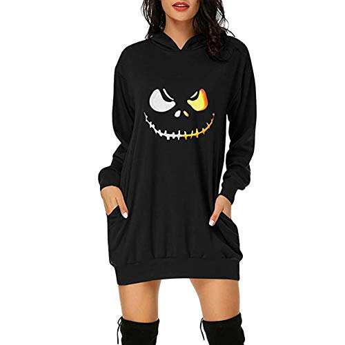 Weihnachtspullover für Frauen, Weihnachtspullover Kleid Strickmuster mit 'Merry...