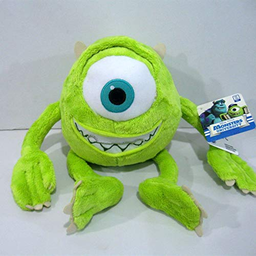 miaomiao Juguete de peluche1pcs 25cm Mike Monsters Mike Wazowski Peluches Monsters Inc Peluches Niños