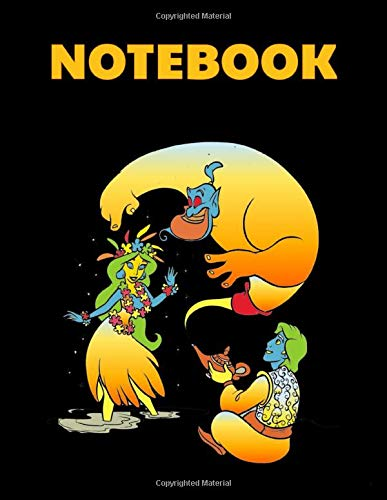 Notebook:Historical Cartoon Net Cover Blank Drawing Book- Large Notebook for Drawing, Doodling or Sketching: 110 Pages 8.5' x 11' Writing Notebook ... Planner, Diary, Journaling, Gratitude