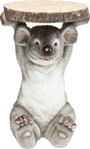 Kare Design Mesa Animal Koala, Madera, Gris, 52x35x33cm