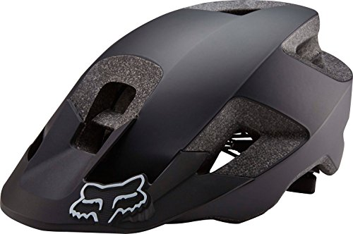 FOX 18786-001-XS/S Ranger-Casco de Ciclismo, Negro, Extra-Small/Small