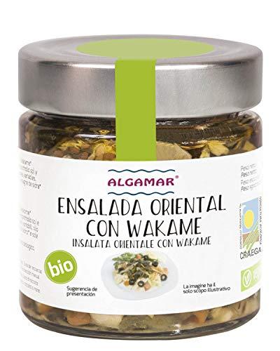 Ensalada de Wakame Oriental Algamar 190 Gr BIO