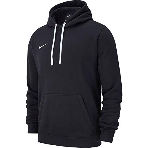 Nike Herren M Hoodie PO FLC TM CLUB19 Sweatshirt, Black/White, 3XL