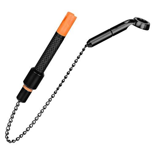 Pole Position Rizer Black Edition Hanger - Segnalatore di abboccata per pesca alla carpa, segnalatore di abboccata per il montaggio della carpa, colore: Arancione