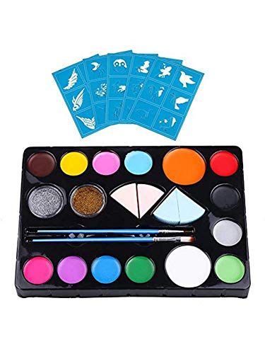aheadad Schminkset, Körperbemalungspalette Kinder-Make-up-Set Ungiftiges Waschbares Schminkset für...