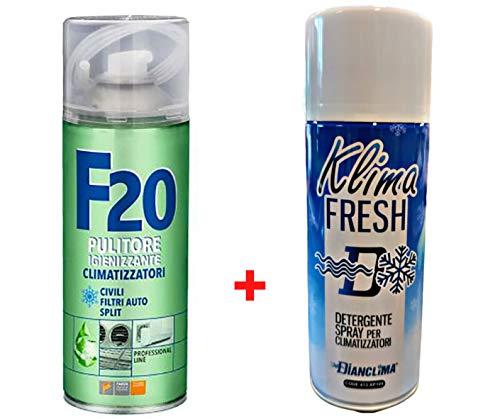 Trattamento Sanificante ed Igienizzante Completo Climatizzatori Detergente Klima Fresh + Igienizzante F20 Faren