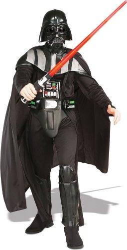 Morris Kostuums RU56077XL Darth Vader Dlx Volwassene X Grote 3-D Riem Jumpsuit