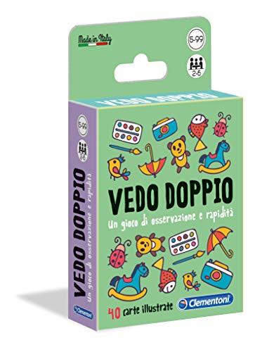 Sapientino Vedo Doppio, gioco di carte per bambini (versione italiana), Multicolore, 16177