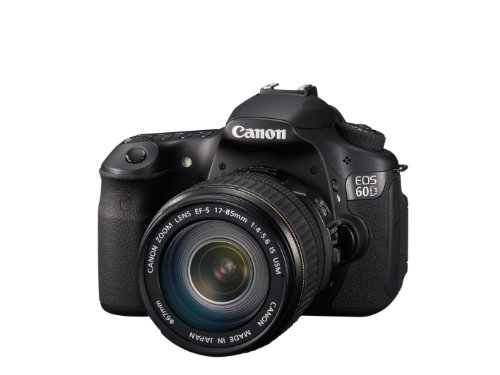 Canon EOS 60D SLR Fotocamera Digitale Reflex 18 Megapixel + Obiettivo EF-S 17-85mm IS USM
