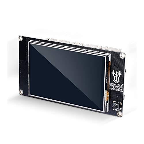 Nologo MZHE TFT35 V2.0 Smart Controller Display 3.5 Inch Touch Screen Compatible SKR V1.3 MKS Gen V1.4 Control 3D Printer Parts Suitable for most printers, making your printer q