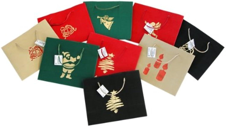 36x Geschenktüte Weihnachten quer Größe ca. ca. ca. 25x10x20cm B009A7LC7Y | Kaufen  8270be