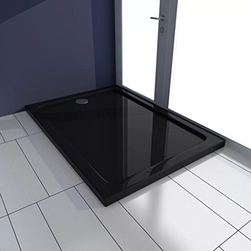 Taofuzhuang rechthoekige ABS-douchebakbodem zwart 70 x 100 cm voor doe-het-zelvers keuken- en sanitaire voorzieningen accessoires voor sanitaire installaties, douchearmaturen, douchebakken