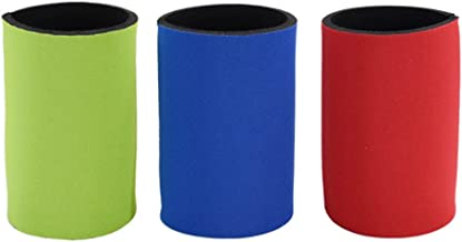 Minkissy 2PCs Cup Covers Duarble Thickened Creative Ring- Pull Can Covers Cup Sleeves Vacuum Cup Covers for Outdoor Red