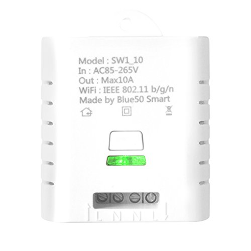 SW1_10W Interruttore wireless Wifi Telecomando Modulo relè di automazione Ewelink per iPhone Smartphone Android 10A